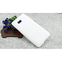 Пластиковый чехол накладка Plastic cover case for HTC Desire 600, white