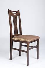 Стул кухонный Юля  (твёрдая спинка) Микс мебель, цвет темный орех, фото 3