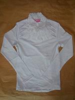 Нарядный гольф блузка для девочек школа BERMINI от140 до 158 см рост с длинным рукавом