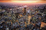 Фотообои Вид сверху на Лондон размер 115 х 175 см