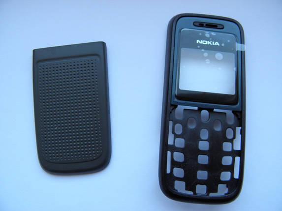 Корпус для Nokia 1200, 1208 чёрный не дорогой, фото 2