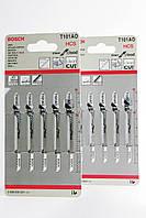 Полотна для электролобзика Bosch T 101 AO (5 штук)