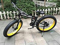 Hummer Electrobike Foldable Электровелосипед  Чёрно-жёлтый