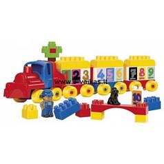 Конструктор поезд Smoby 3244