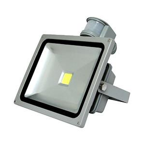 светодиодный прожектор 30 Вт с датчиком движения