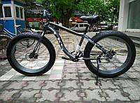 Электровелосипед LKS Fatbike Чёрный (Фэтбайк) Electro Rear Drive