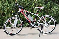 Porshe Электровелосипед  Electrobike RD Белый