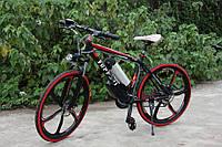 Электровелосипед Ferrari Electric Rear Drive Черный