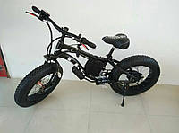 Электровелосипед LKS Fatbike Детский Electro Rear Drive