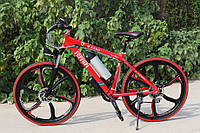 Электровелосипед Ferrari Electric Rear Drive Красный
