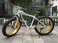 Электровелосипед Ferrari Electric Rear Drive Бело-золотой
