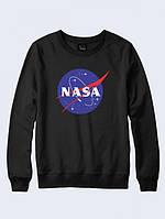 Свитшот NASA космос чёрный