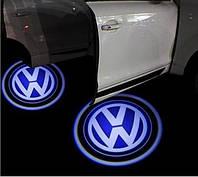 Штатные проекторы логотипа в двери для Volkswagen Group