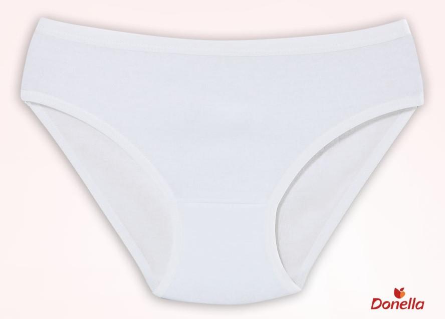 """Трусики детские для девочки """"Белые"""", 0-1 год (рост 86-92)"""