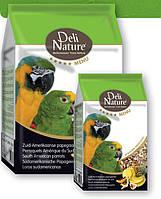 Корм для больших попугаев Deli Nature 5★ menu - South American parrots 2.5кг