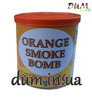 Цветной дым Smoke bomb оранжевый, напольный