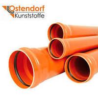 Наружные канализационные трубы OSTENDORF 50, 110, 160мм