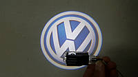 Штатные проекторы логотипа в двери для Volkswagen Passat B5
