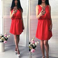 Женское стильное платье из шифона (4 цвета), фото 1