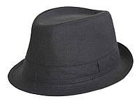 Шляпа классическая черная Прага