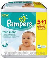 Pampers Влажные салфетки Pampers baby fresh clean 384шт