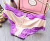 Трусики/Слипы гипюр Victoria's Secret, бежевые