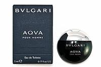 Bvlgari AQUA EDT 5 ml  туалетная вода мужская (оригинал подлинник  Италия)