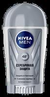 Дезодорант-антиперспирант NIVEA MEN Серебряная Защита  Стик  40 мл