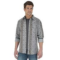 Рубашка Wrangler, S, Black/Grey, MVR235M, фото 1