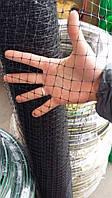 Птичка. Заборы садовые, сетки пластиковые. Ячейка 12*14 мм, рулон 2*100 м (черная)