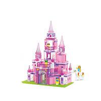 Конструктор Розовая мечта - Замок принцессы M38-B0152 Sluban, фото 1