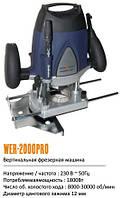 Вертикальная фрезерная машина (фрезер) Wintech WER-2000