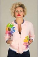 Женская модная куртка-ветровка большого размера 111 ЕПб