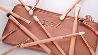 VIP набор кистей для макияжа Zoeva  ( реплика ) ROSE GOLDEN 12 штук, фото 1