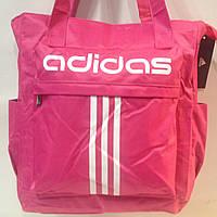 Выразительная сумка женская пляжная текстиль adidas   оптом