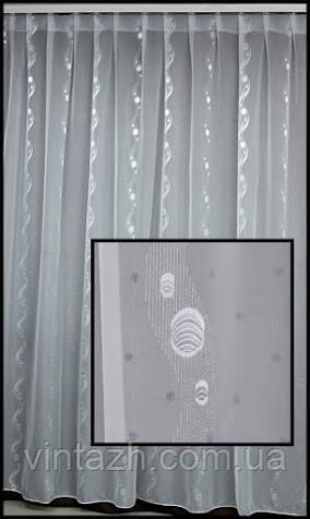Органза с тканью тюль