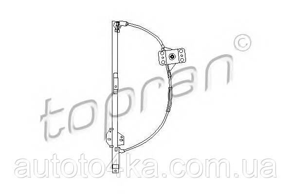 Стеклоподъемник механический левый Topran 104098755