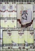 Тюль с детской тематикой