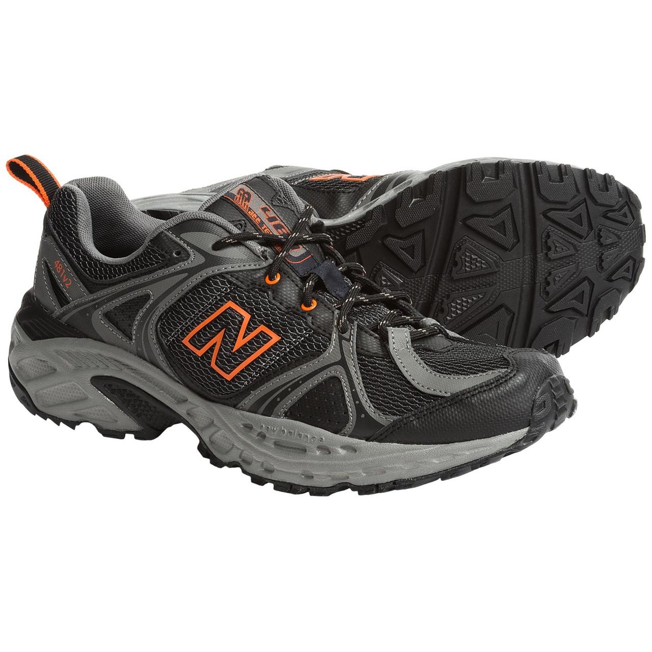 Кроссовки New Balance Trail Running, Black/Grey