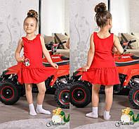 Оригинальное детское платье в расцветках