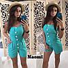 Комбинезон с шортами и пуговицами, фото 6