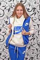 """Спортивный костюм женский """"Nike"""", теплый (тройка), фото 1"""