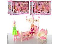 Мебель 889-1-2-4 кукла Барби, 3 вида