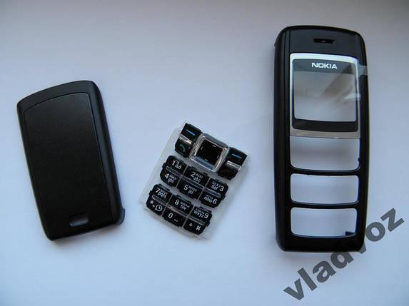 Корпус Nokia 1600 чёрный c клавиатурой AAA, фото 2