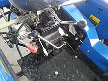 Мототрактор LIDER 150R с регулировкой передней колеи, фото 2
