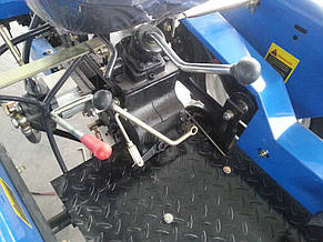 Мототрактор LIDER 150D, новый дизайн капота, фото 2