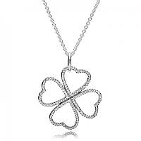 Подвеска Лепестки любви серебро 925 Pandora