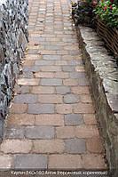 Тротуарная плитка Коричневая полный покрас( Кирпич антик 240\160)