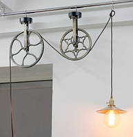 Светильник подвесной Loft Steampunk [ Pendant Wheels ]