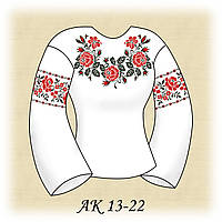 Заготовка женской сорочки для вышивания АК 13-22 Элегантность
